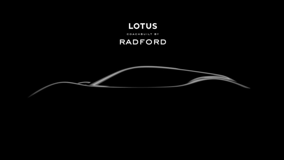 New Radford sports car