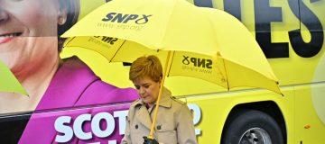 Nicola Sturgeon Campaigns Ahead Of Thursday's Holyrood Election