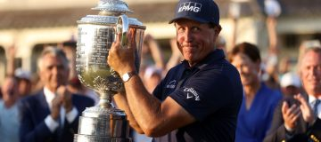 Phil Mickelson became the oldest ever men's major winner with victory at the US PGA Championship on Sunday