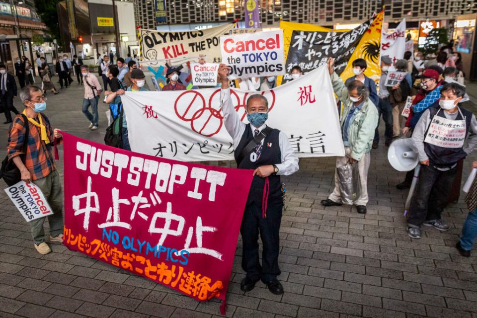 More than 80 per cent of Japanese oppose holding the Tokyo 2020 Olympics this year, latest polls show
