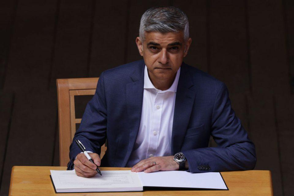 Sadiq Khan Swears In After Reelection As London Mayor