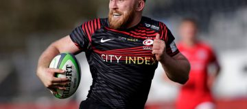 Jackson Wray and Saracens are chasing promotion back to the Premiership this season, the first step in what the club hopes will be a return to the pinnacle of the club game
