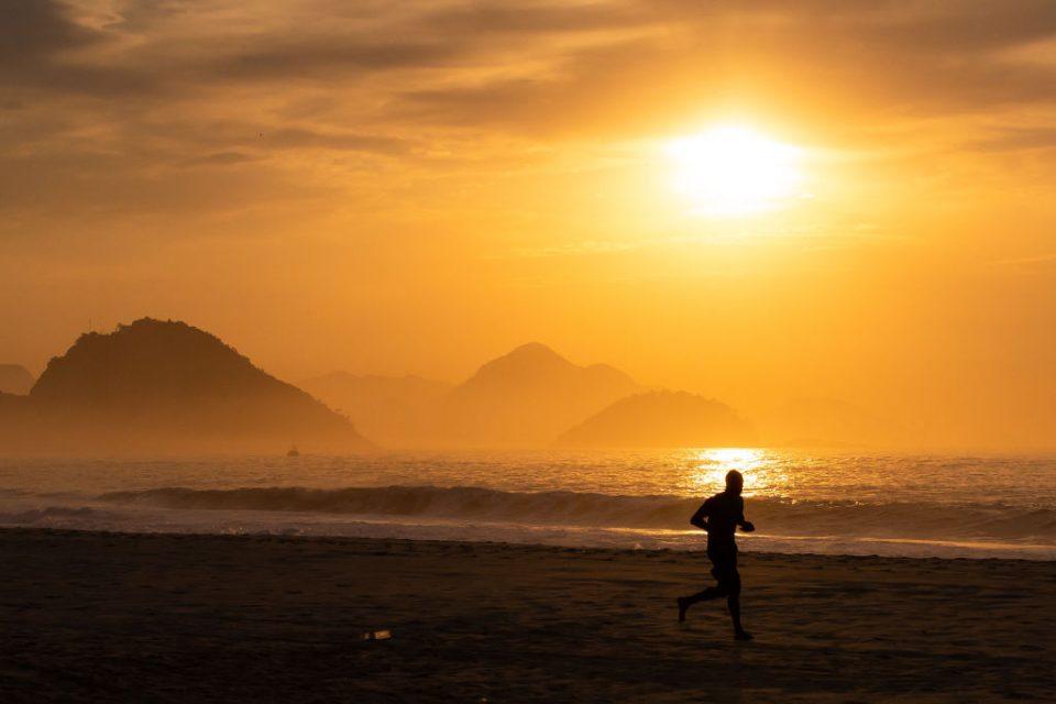 Sunrise and Early Morning in Rio de Janeiro Amidst the Coronavirus (COVID - 19) Pandemic