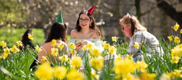UK Bakes In Record Spring Weather
