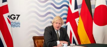 UK Prime Minister Hosts Virtual Meeting Of G7 Leaders