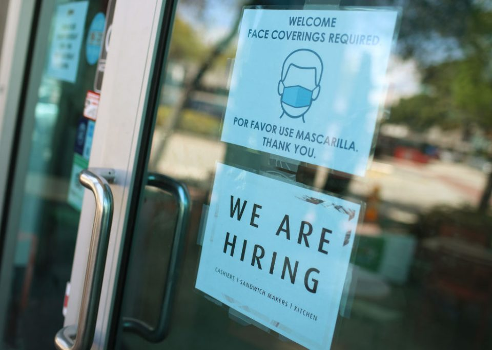 U.S. Unemployment Rate Drops To 6.2 Percent, As Many Restaurants And Bars Start To Reopen