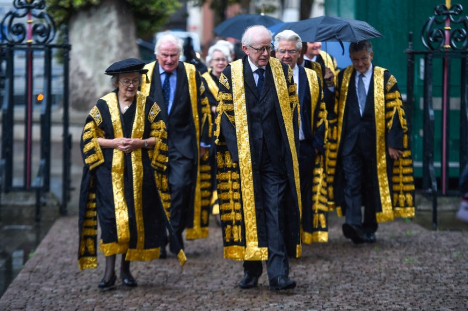 Westminster Abbey Service Marks Beginning Of The Legal Year