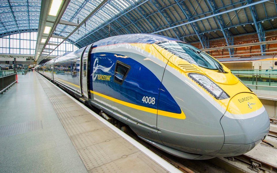The boss of Eurostar has said that the UK should tax airlines more in order to pay for the cross-Channel rail link.