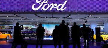 Ford today said that it was aiming for 40 per cent of its sales to be of electric cars by 2030, sending shares up 7.0 per cent today.