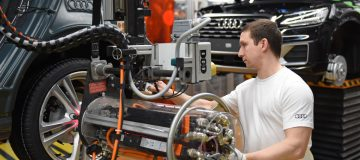 German carmaker Audi will idle 10,000 staff for the second time in a matter of months due to the ongoing semi-conductor shortage.