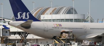 Sweden and Denmark said today that they had agreed to offer ailing airline SAS, in which both countries own stakes, a 3bn Swedish crown (£255m) loan guarantee.