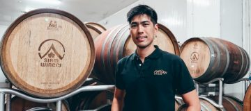 Monsoon Valley chief winemaker Suppached Sasoman, a leading star in Thai wine