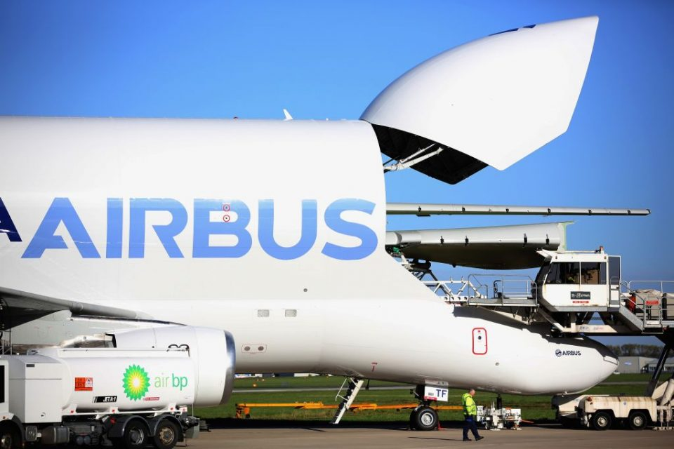 Airbus Wing Production In Broughton