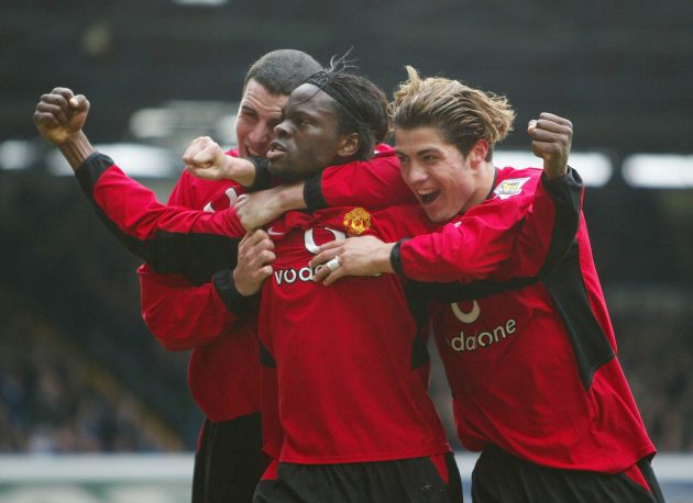 Saha helped Manchester United win European and domestic titles after joining Fulham