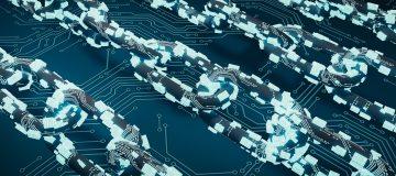 Blockchain chain link