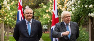 UK to share 4m vaccines with Australia