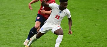 Bukayo Saka gave England fresh impetus and helped to set up fellow local boy Raheem Sterling for the winning goal against the Czech Republic at Euro 2020
