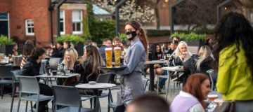 England Businesses Re-Open As Coronavirus Restrictions Ease