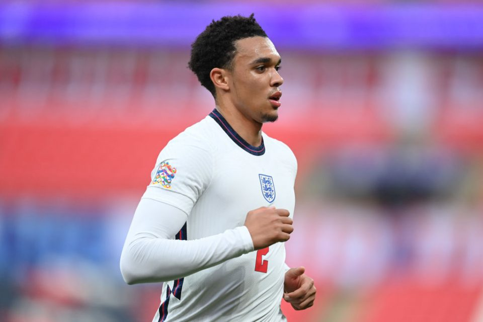 Liverpool defender Trent Alexander-Arnold is among the 26 names in the England Euro 2020 squad