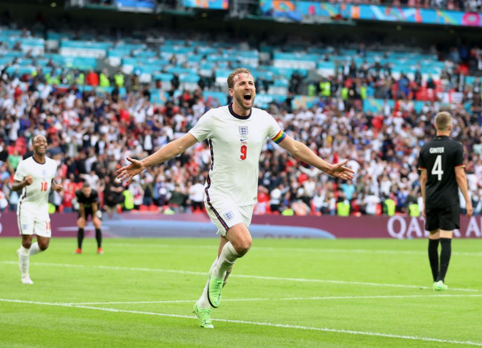 Harry Kane scored the second goal as England beat Germany to reach the quarter-finals of Euro 2020