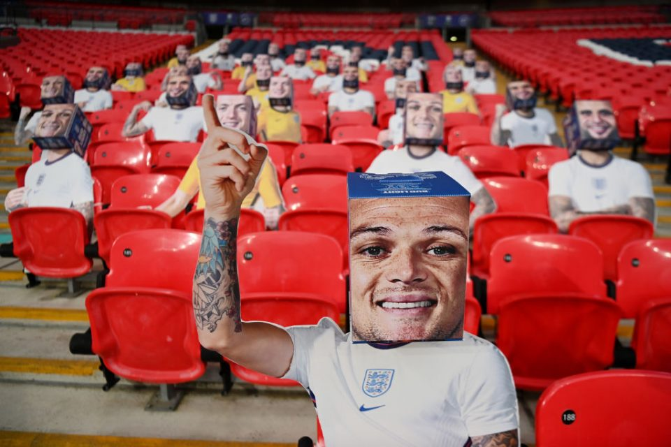 Kieran Trippier is one of four right-backs in the 26-man England squad for Euro 2020 announced this week