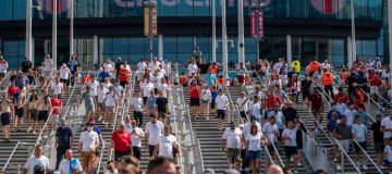 Fans Support England's Opening Game Of Euro 2020