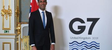 G7 Finance Ministers Meet In London - Day 1