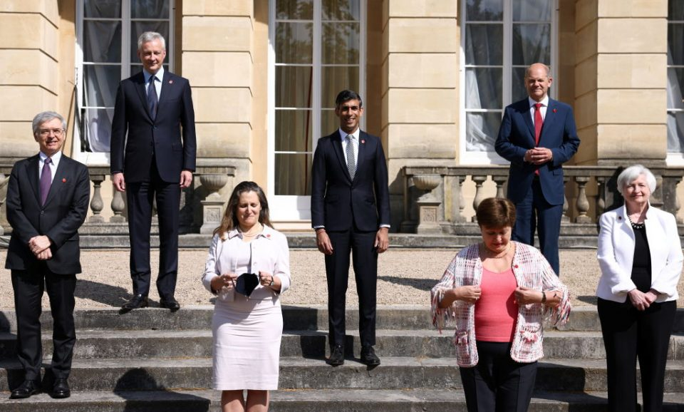 G7 Finance Ministers Meet In London - Day 2