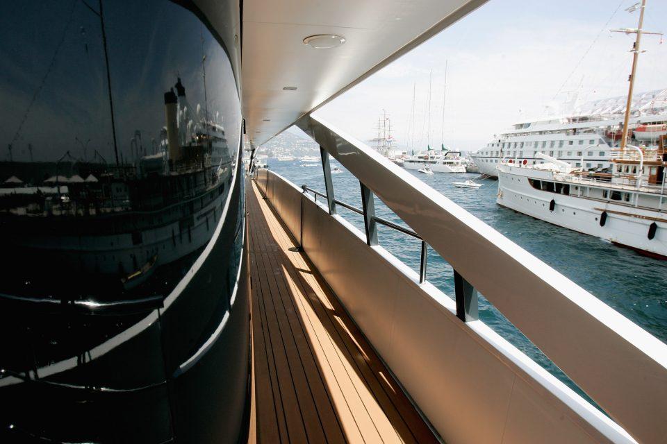 General Views On Board Of The Steinmetz Super-Yacht, RM Elegant