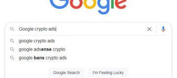 Google crypto ads