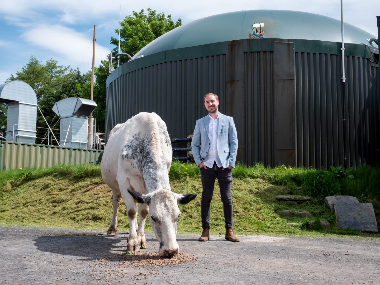 Businessman from Bury invents crypto mining machines that can run on cow poo - CityAM