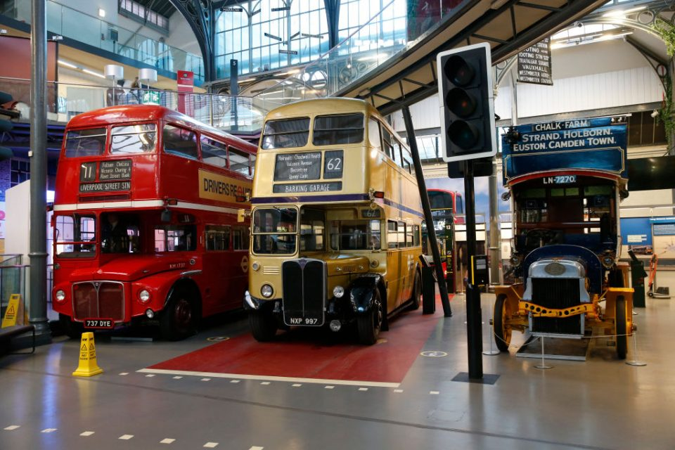 London Transport Museum Prepares To Reopen
