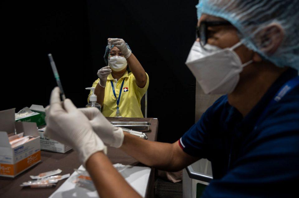 Mass Vaccination Program Begins In Thailand