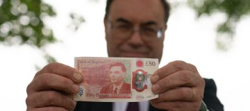 New £50 note featuring WW2 codebreaker Alan Turing enters circulation