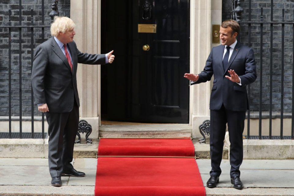 President Macron Visits The UK To Commemorate 80th Anniversary Of  The Appeal of The 18th June Speech.