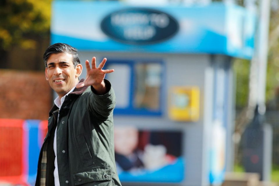Rishi Sunak Visits Rhyl On Final Day Before Election