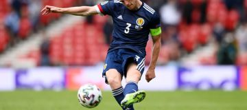 England v Scotland: Captain Andy Robertson was the Scots' most influential performer against the Czech Republic