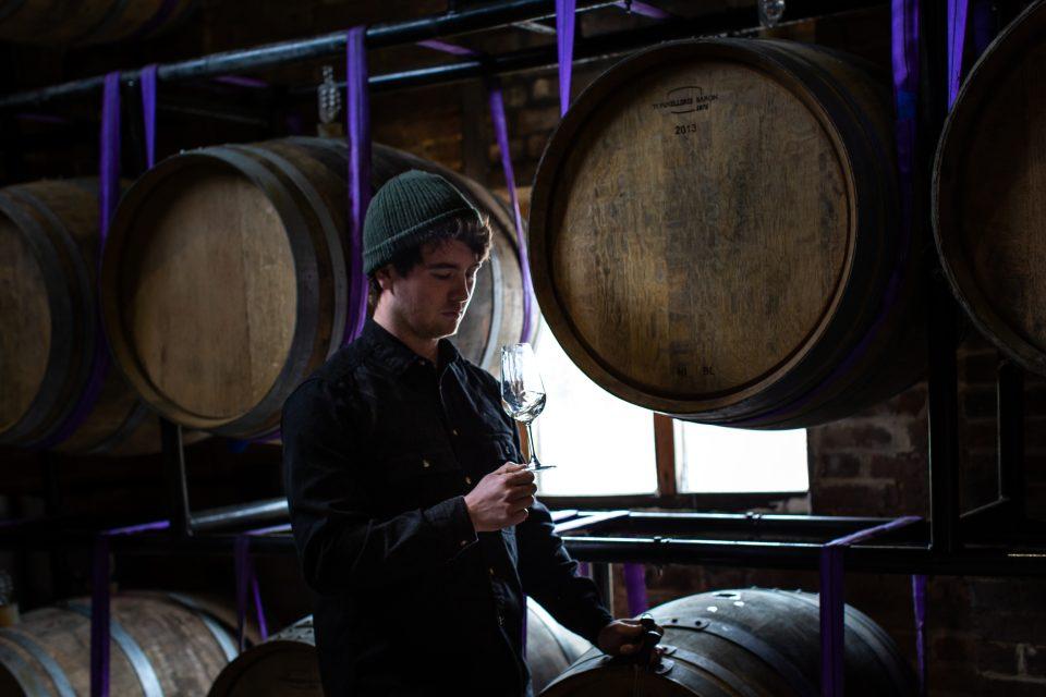 Tommy Grimshaw of Langham Wine Estate