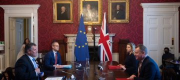 UK Brexit Minister Frost Meets EU Counterpart Over NI Protocol