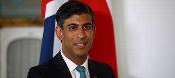 U.K. Chancellor Rishi Sunak Bilaterals Ahead of G-7 Finance Summit