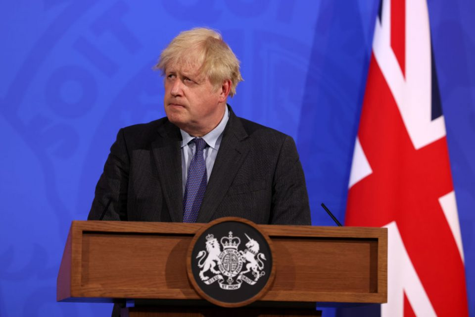 UK Prime Minister Delays 'Freedom Day' Due To Spread Of Delta Variant Of Covid-19