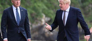 Perdana Menteri Inggris Bertemu dengan Presiden AS Menjelang KTT G7