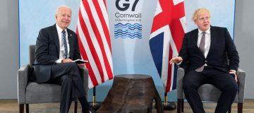 Le Premier ministre britannique rencontre le président américain avant le sommet du G7