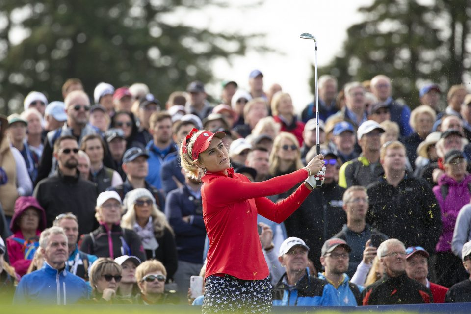 Lexi Thompson is another of the major winners due to compete at Centurion Club in the first leg of the Aramco Team Series