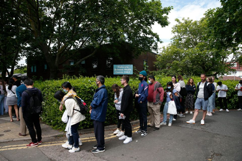 Walk-In Vaccination Clinic Invites Local Over-18s In Harrow