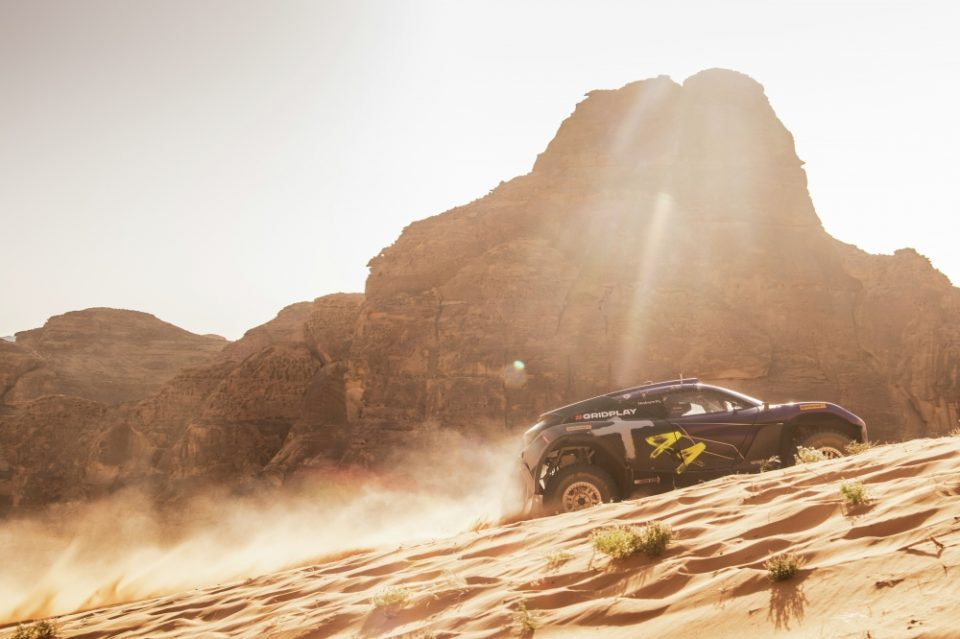 Lewis Hamilton's X44 team is currently the closest challenger to his old rival Rosberg's team in the new all-electric off-road series.