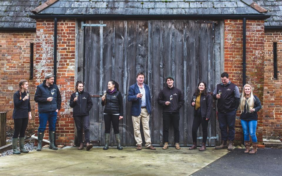 The winemaker team at Langham