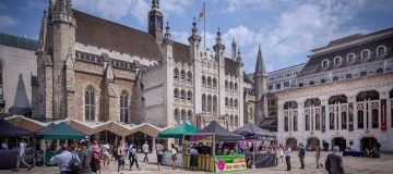 Lunch markets are back on the menu at Guildhall Yard