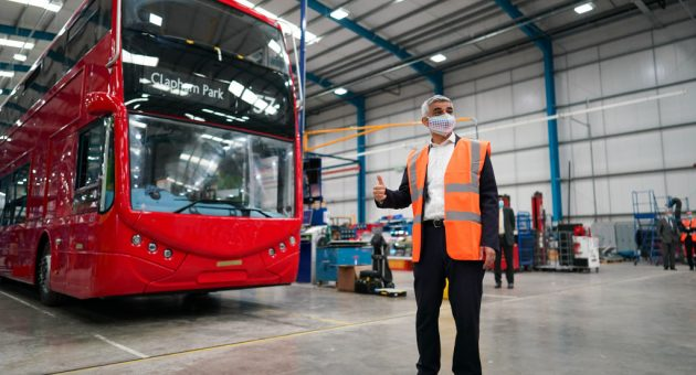 All new London buses to be zero-emission Mayor says
