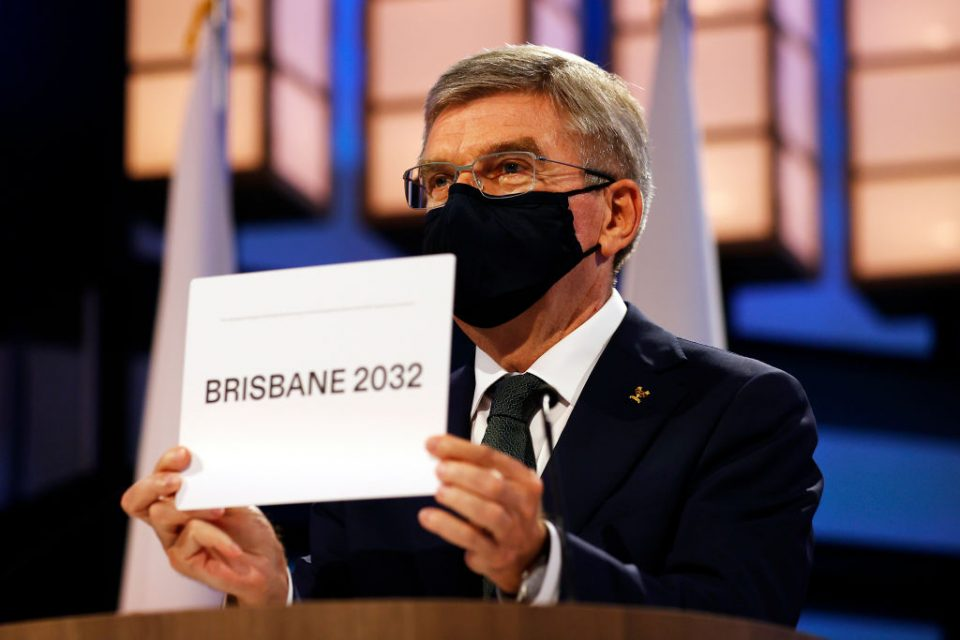 Brisbane was confirmed as host city of the 2032 Olympics by IOC president Thomas Bach today in Tokyo